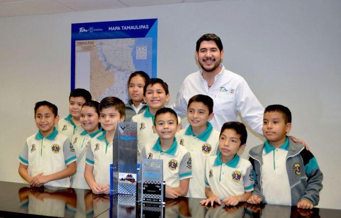 Alumnos ganadores del Torneo Nacional de Robótica tendrán el apoyo del Gobierno del Estado y de la Secretaría de Educación en su evento mundial