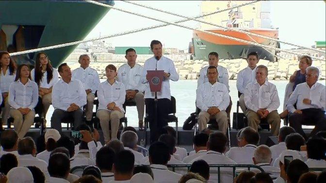 Ceremonia del 79° Aniversario de la Expropiación Petrolera