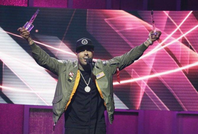 Nicky Jam arrasa en los Billboard 2017, los dedica a Venezuela