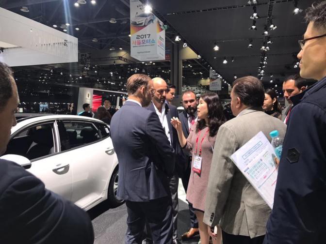 Ventajas competitivas para Tamaulipas, Seoul Car Show 2017, en corea del sur…