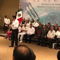 Gabinete de Seguridad del Gobierno de la República analiza Estrategia de Seguridad de Tamaulipas