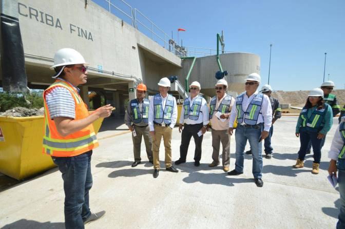 Supervisan regidores instalaciones de la COMAPA de Reynosa