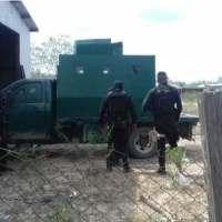 "Policía estatal asegura  ""Monstruo"" en Camargo..."