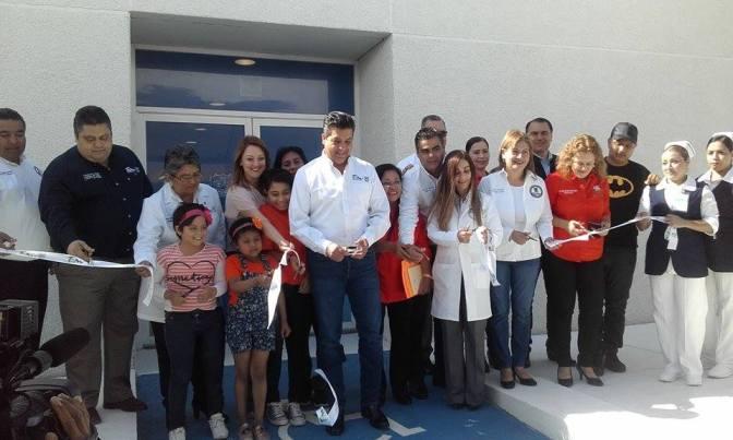 Gobernador entrega Unidad Oncológica Pediátrica en Hospital Materno Infantil