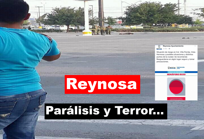 2 DÍAS SIN CLASES, POR OLA DE VIOLENCIA EN REYNOSA…