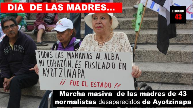 Madres de desaparecidos marcharán en la Ciudad de México