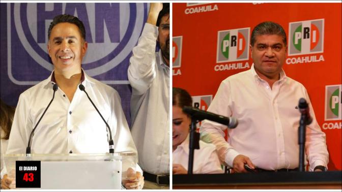 Coahuila en suspenso; aventaja Riquelme en PREP…