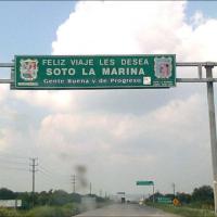 """Detienen a  ocho personas en la  Playa del Poblado """"la Pesca""""  en Soto la Marina, Tamaulipas."""