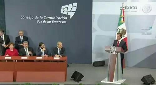 Seguiremos siendo respetuosos de la libertad de expresión: Peña Nieto