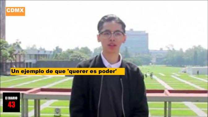 Alumno realiza examen perfecto para ingresar a la UNAM