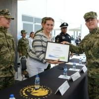 Participa Alcaldesa en Ceremonia de la Base de Operaciones SEMAR Reynosa