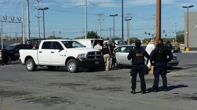 Hallan ejecutado en cajuela de vehículo en Reynosa