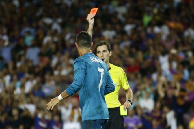 Confirman castigo a Cristiano Ronaldo; queda fuera cinco partidos
