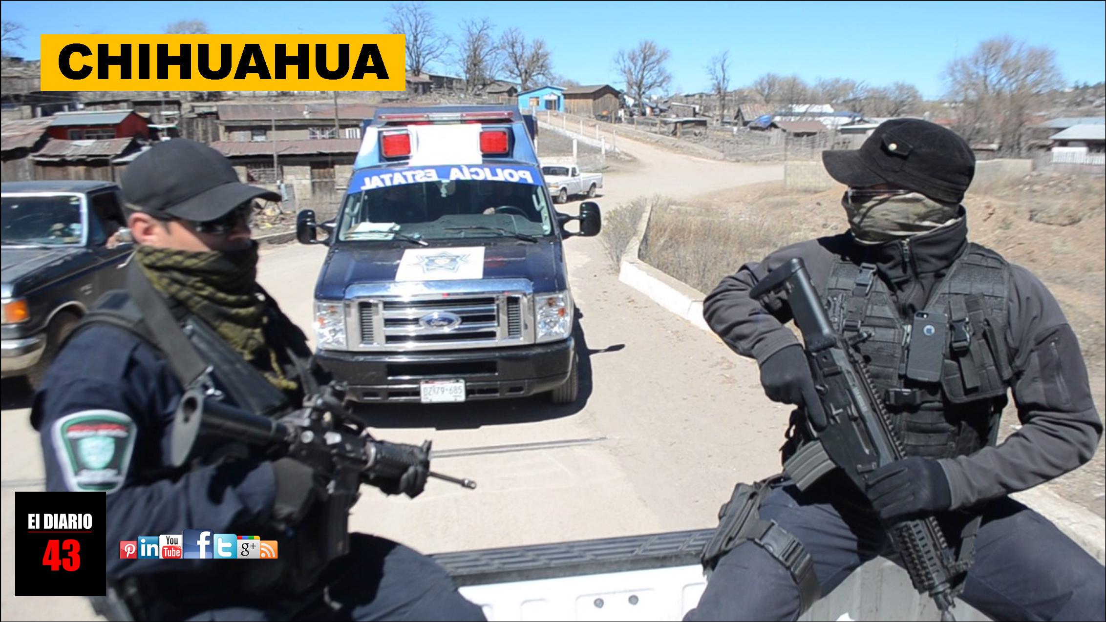 Policías estatales se enfrentan con mas de  100 sicarios en la sierra de Chihuahua