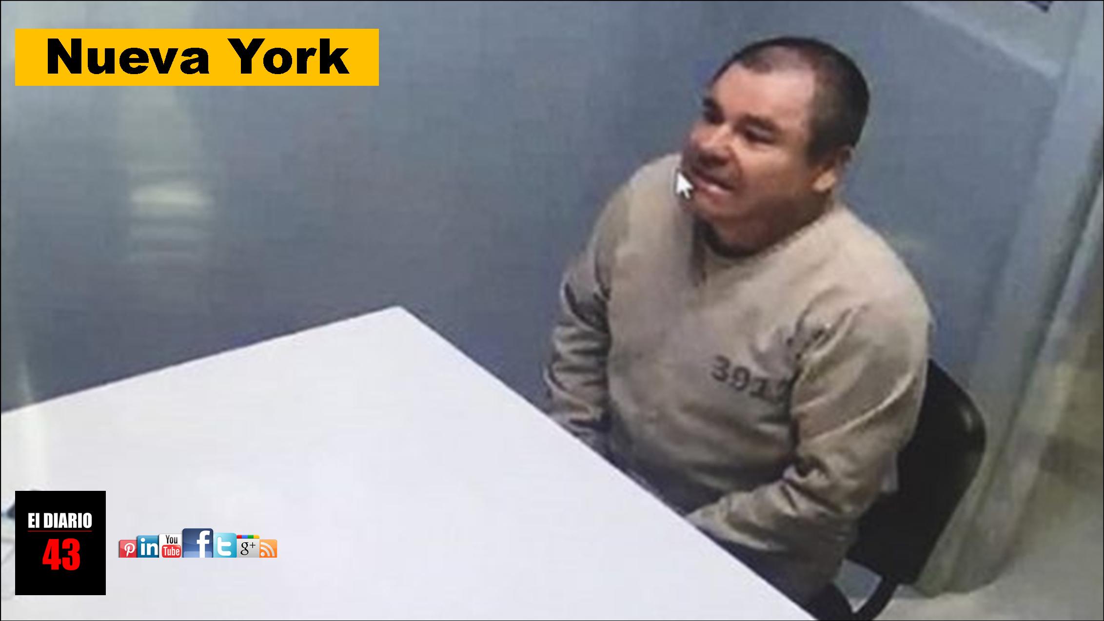 """""""El Chapo"""" recibe su primera visita familiar en la cárcel"""