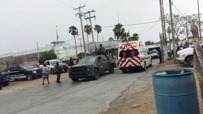 OFICIAL;9 muertos y 2 heridos por Riña en Penal de Reynosa