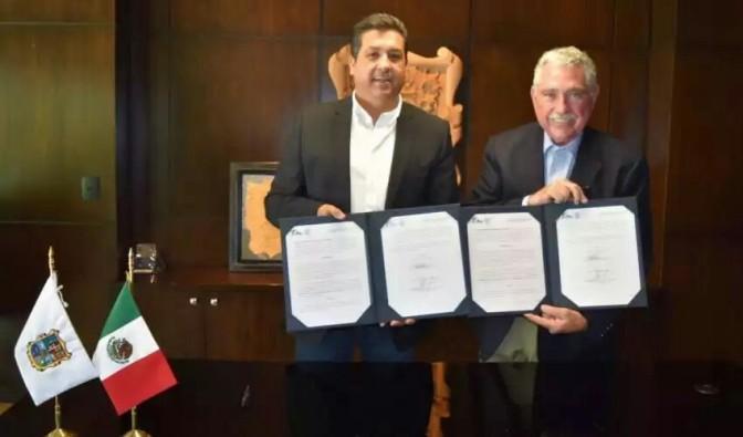 EMPRESA DONA PREDIO AL GOBIERNO DE TAMAULIPAS EN LA ZONA RIBEREÑA