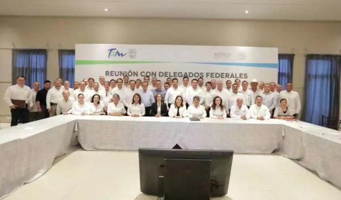 GOBIERNO DEL ESTADO Y DELEGACIONES FEDERALES ACUERDAN AGENDA COMÚN