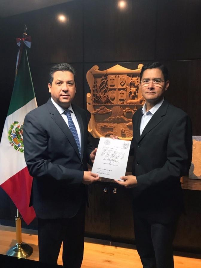 DESIGNA GOBERNADOR A SUBSECRETARIO DE SEGURIDAD PÚBLICA