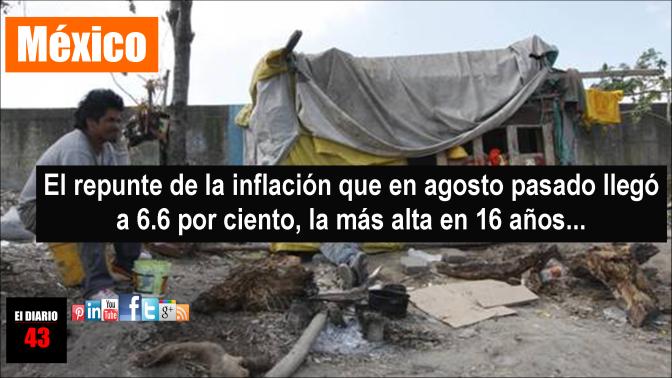 Niveles de pobreza en México crecerán en 2017 y 2018: Ceesp
