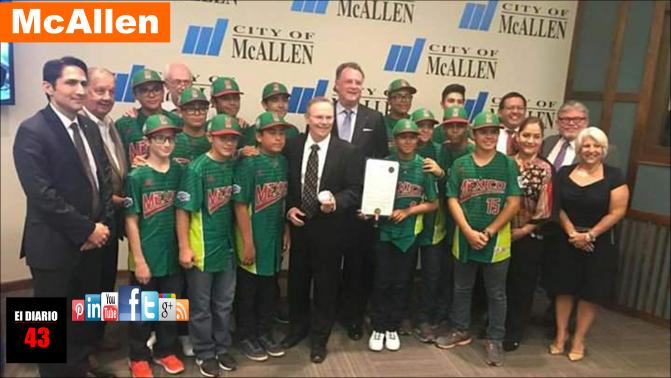 Declara ciudad de McAllen Día de la Treviño Kelly