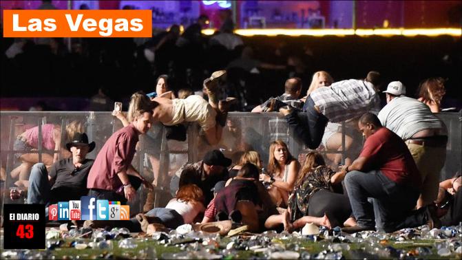 Al menos 50 muertos y 200 heridos en un tiroteo junto a un casino de Las Vegas