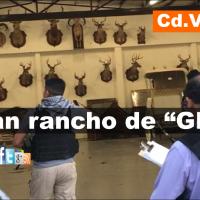 Catean rancho del exgobernador  Eugenio Hernández