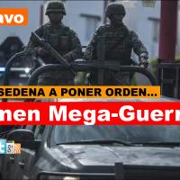 Llega escuadrón militar a Rió Bravo de la Octava Zona Militar con sede en Reynosa