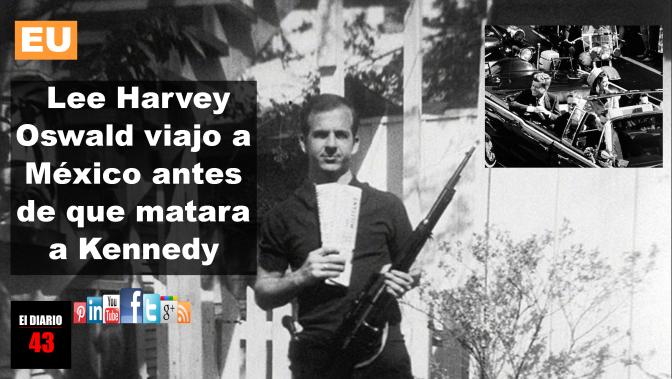 Oswald se reunió con un agente de la KGB antes de matar a Kennedy