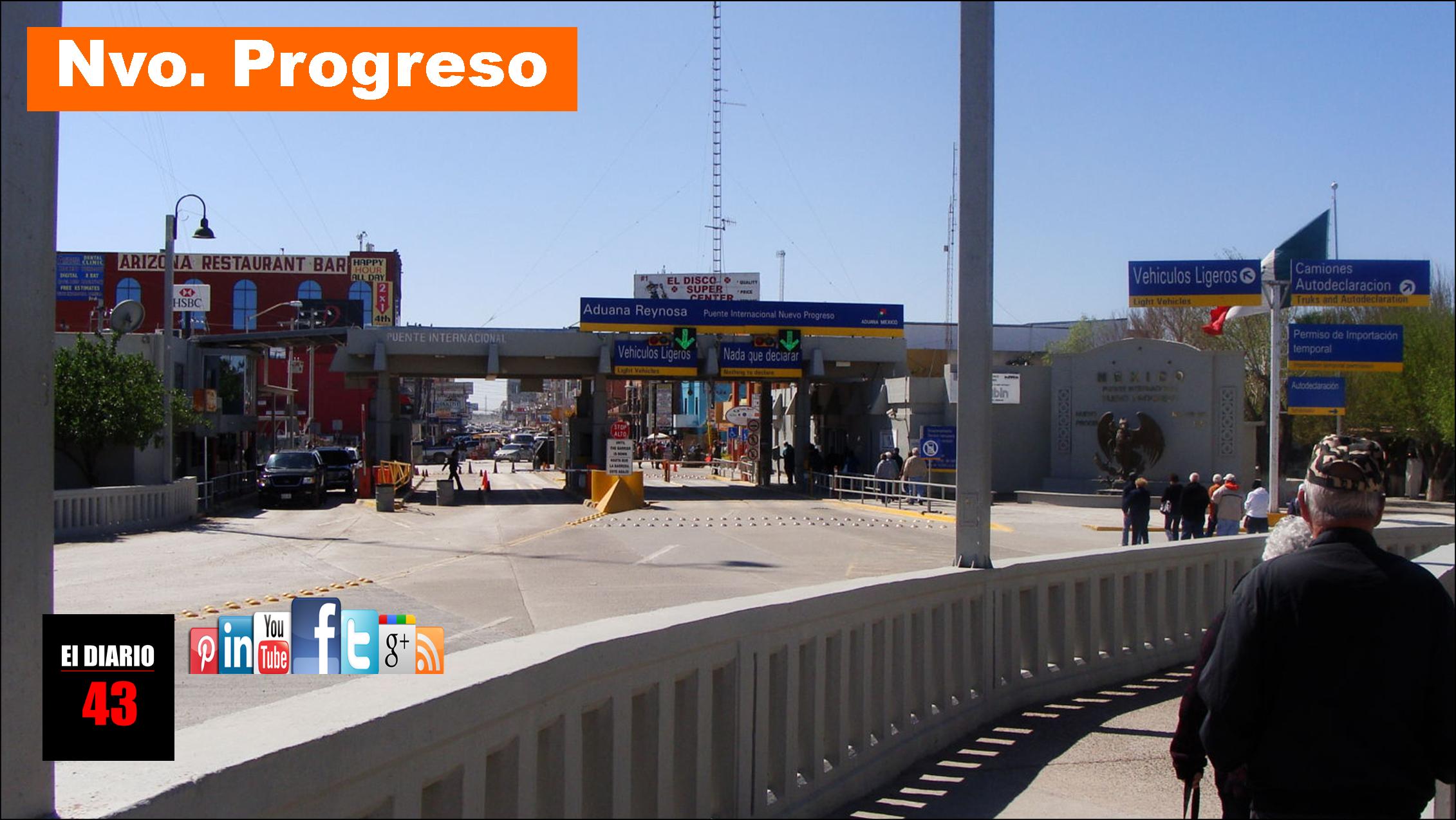 Pretendía cruzar  metanfetaminas por el Puente Internacional Progreso…