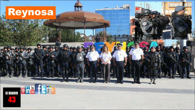 Refrenda en Reynosa comisionado de la PF compromiso con México