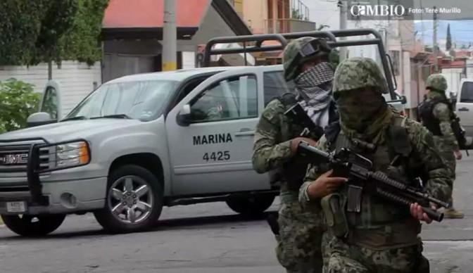 Se Topan Marinos y Crimen Organizado en Matamoros;8 Muertos
