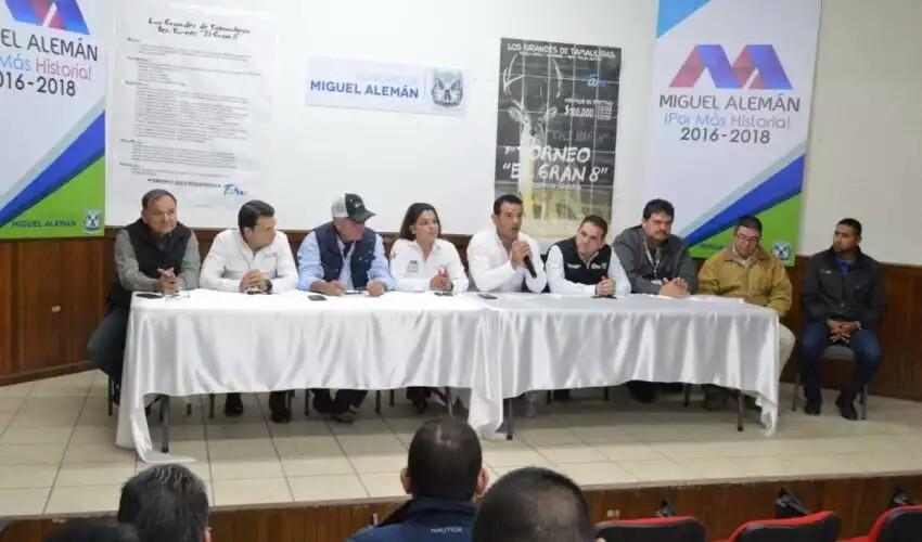 """LANZAN 1° TORNEO CINEGÉTICO """"EL GRAN 8"""" EN LA FRONTERA NORTE DE TAMAULIPAS"""