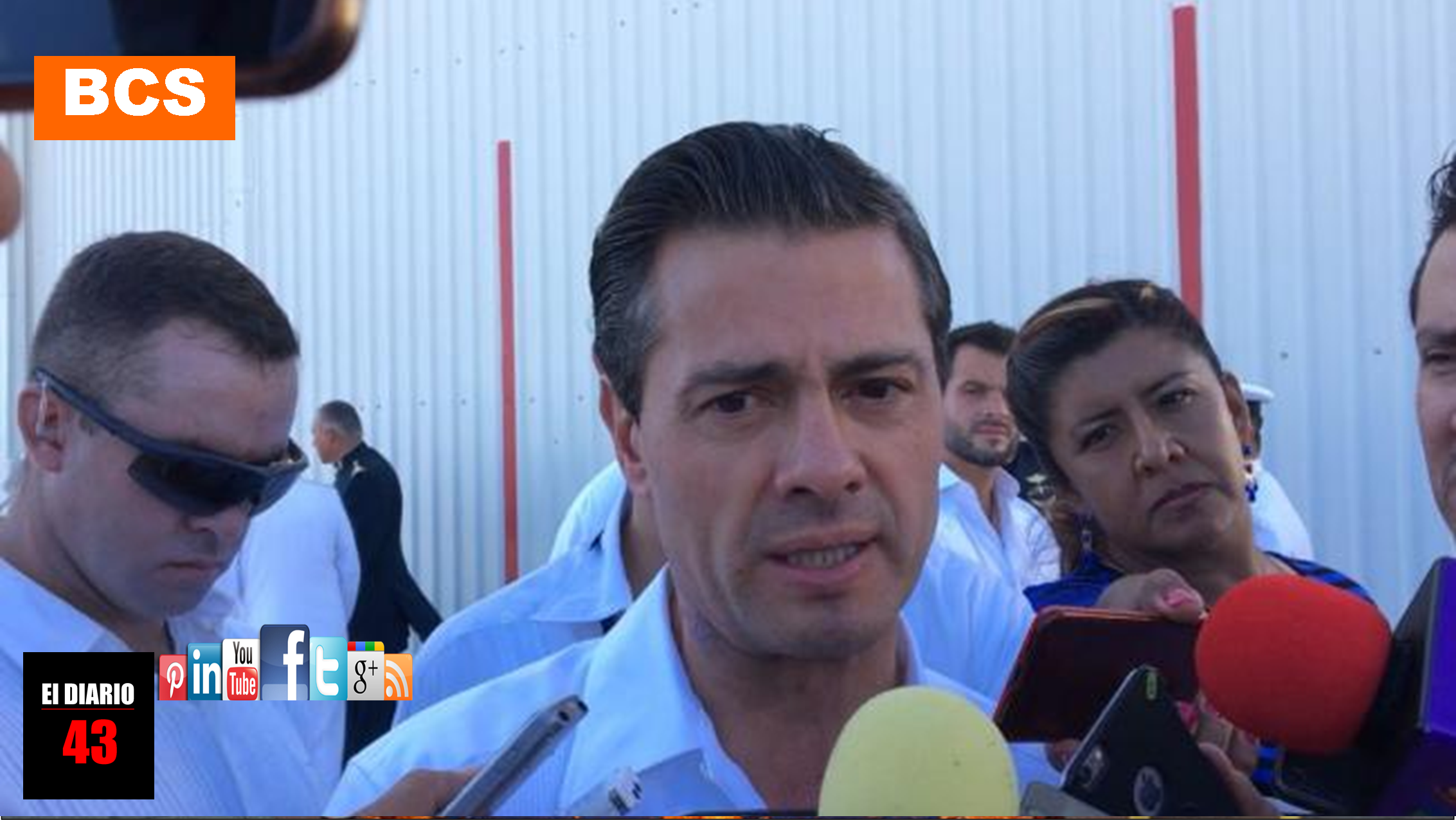 """""""No se despisten, el PRI no elige a su candidato por elogios"""": Peña Nieto"""