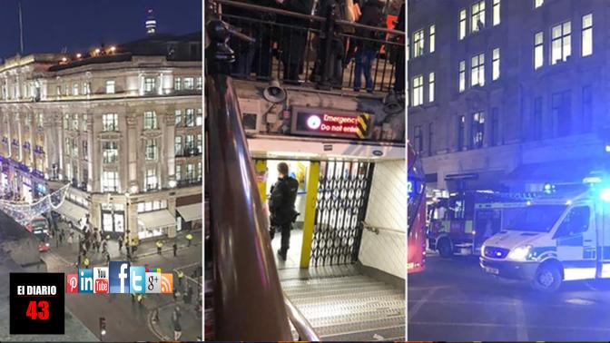 Pánico en Londres: por una falsa alarma evacuaron la estación de metro Oxford Circus