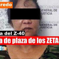 """Detienen en Nuevo Laredo a Ana Isabel, hermana de """"El Z-40"""""""
