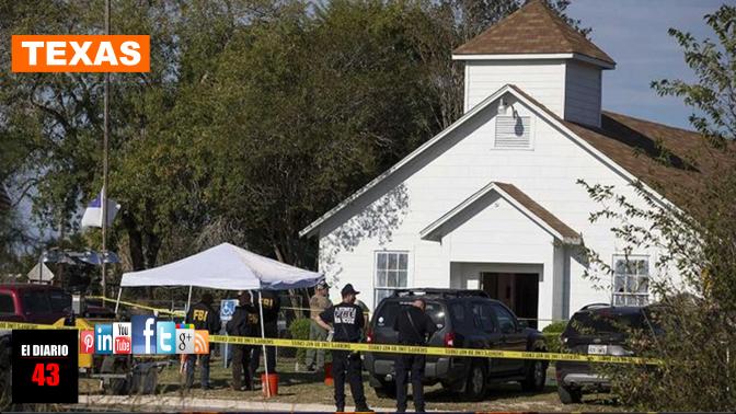 Peña Nieto lamenta tiroteo en iglesia de Texas