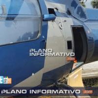 Balean helicóptero de mando policial en San Luis Potosí...