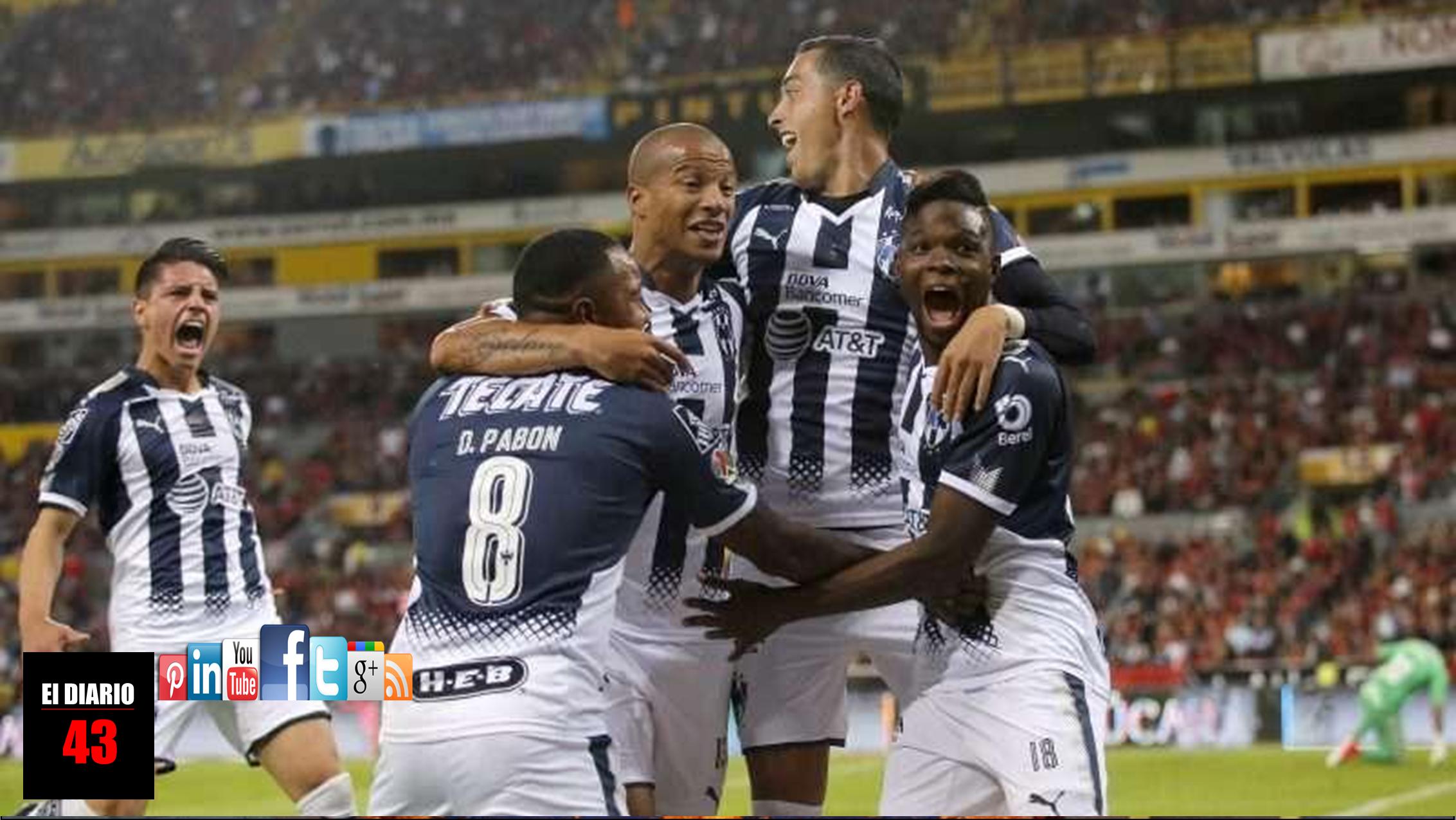 Monterrey derrota a Atlas a domicilio y da un paso a semifinales
