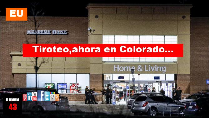 Al menos 2 muertos y varios heridos por tiroteo en Colorado