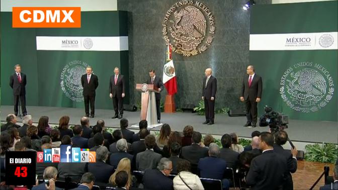 Peña Nieto, acepta renuncia de Meade, nombra en su lugar a González Anaya