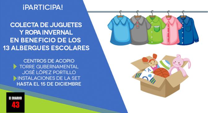 SET INVITA A LA COLECTA ANUAL DE JUGUETES Y ROPA INVERNAL