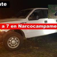 Abaten a 7 sicarios en narcocampamento en Ciudad Mante..