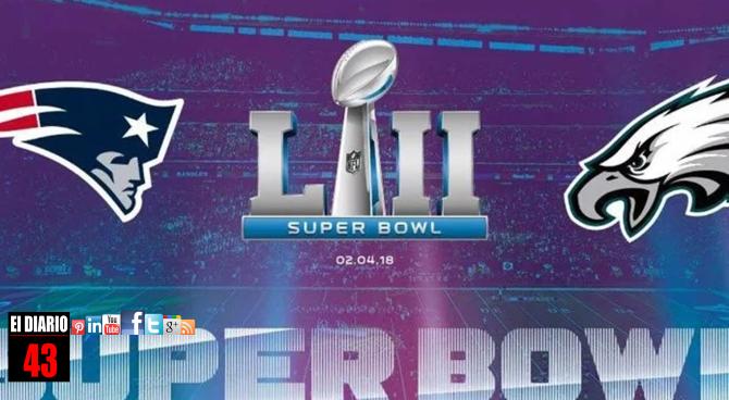 Patriots y Eagles disputarán el Super Bowl LII