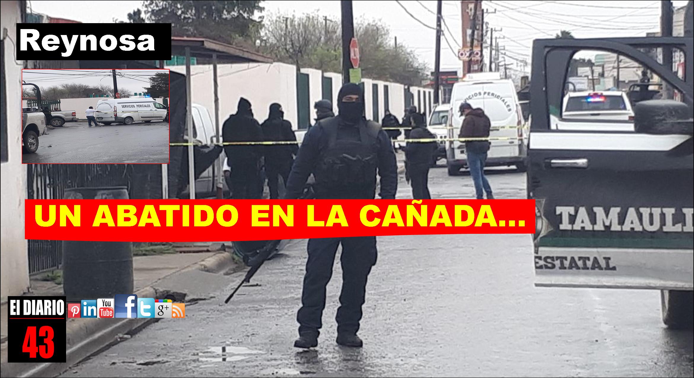 Un Hombre en Reynosa, se agarra a balazos con Policías, es abatido…