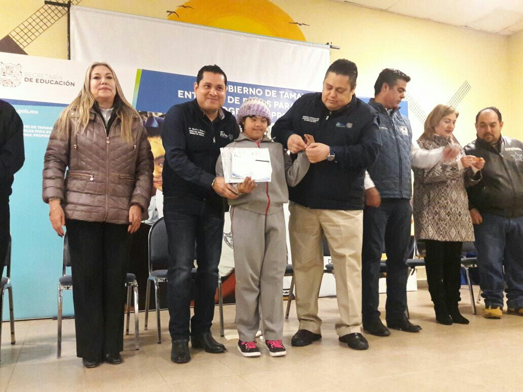 En Reynosa son 20 mil 500 estímulos educativos del Gobierno estatal