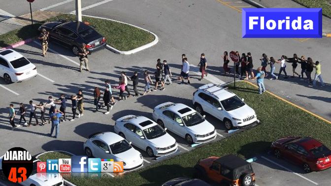 Dramática realidad: 17 tiroteos en escuelas de EEUU en lo que va de 2018