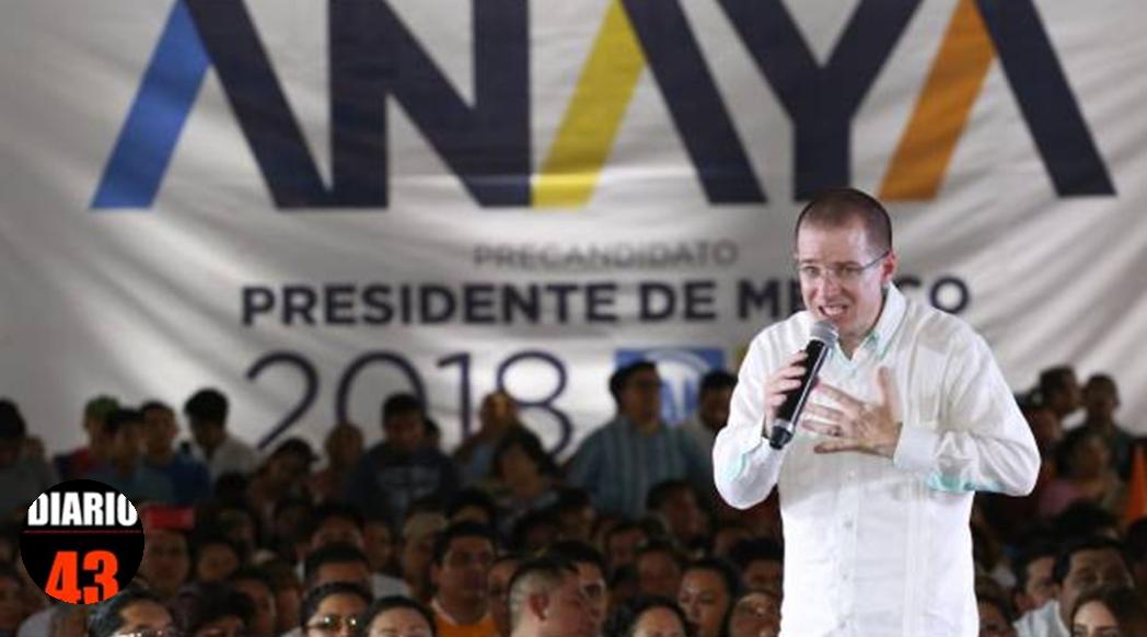 Acusan a Ricardo Anaya de lavado de Dinero…