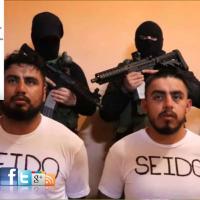 Difunde  'Narco' vídeo con 2 federales secuestrados...