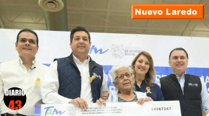 ACERCAN GOBIERNO Y DIF TAMAULIPAS APOYOS SOCIALES A PERSONAS QUE MÁS LO REQUIEREN